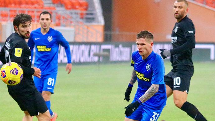 «Ротор» одержал волевую победу над «Тамбовом» в первом матче после возобновления Тинькофф РПЛ