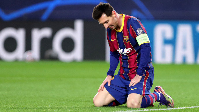 «Барселона» сообщила о травме Месси