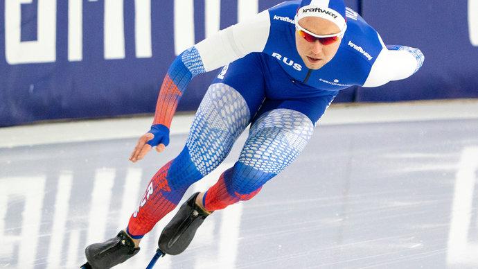 Кулижников завоевал серебро в забеге на 1000 метров на ЧМ