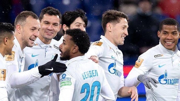 Дуглас Сантос — о праздновании гола в ворота ЦСКА: «У Вендела хорошие волосы, каждый хотел забрать себе чуть-чуть»