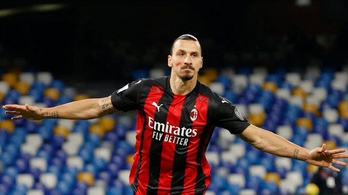 «Верю в Златана». Ибрагимович — о шансах «Милана» на победу в Серии А