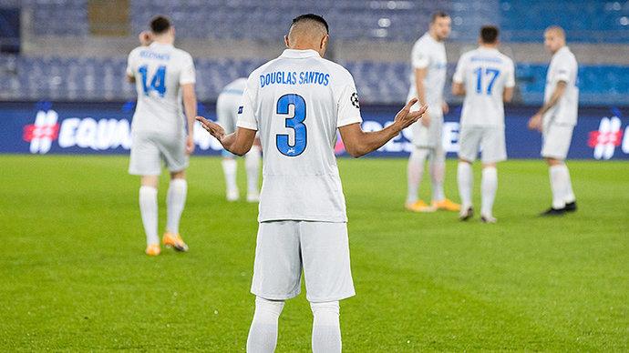Дуглас Сантос: «Совершенно точно не назову выступление в Лиге чемпионов провалом»