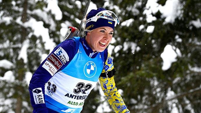 Украине вернули 4-е место в женской эстафете на этапе КМ в Нове-Место. Россиянки опустились на 8-ю позицию