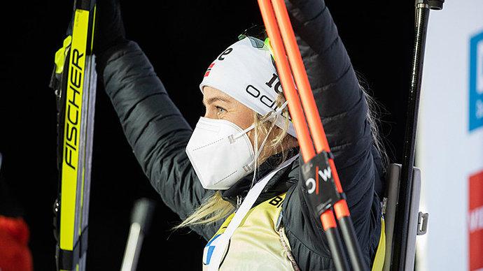 Экхофф выиграла гонку преследования в Нове-Место, Куклина — 37-я