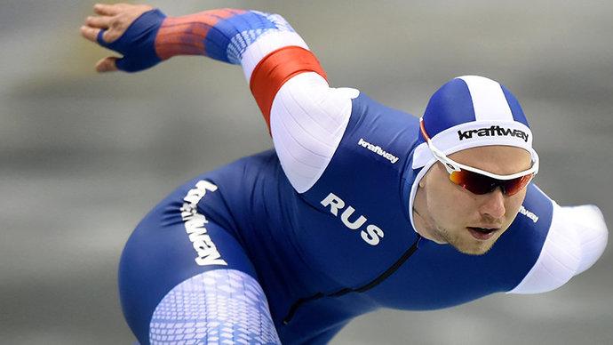Кулижников завоевал бронзу на этапе Кубка мира в Херенвене