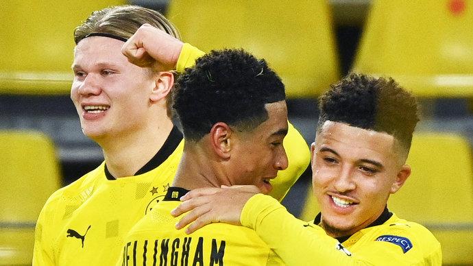 «Лейпциг» проиграл дортмундской «Боруссии» и упустил шанс опередить «Баварию»