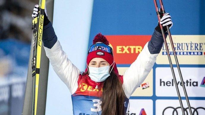 Ступак победила в масс-старте на заключительном этапе Кубка мира в Швейцарии