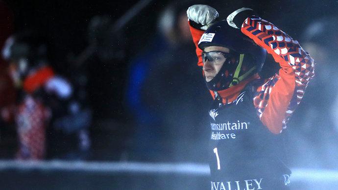 Фристайлист Буров одержал пятую подряд победу на этапах КМ и досрочно выиграл общий зачет