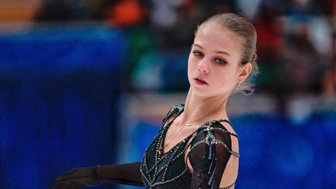Александра Трусова — о смене тренера: «Меня все устраивает»