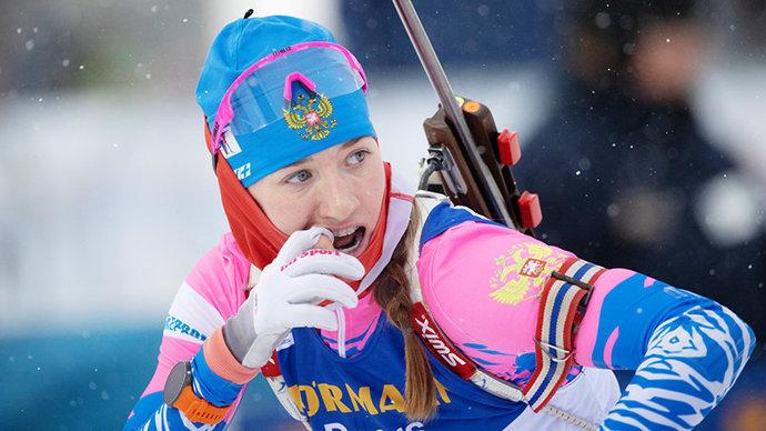 Симон показала лучший ход в масс-старте, Миронова уступила почти 50 секунд
