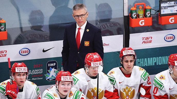 «Мы продолжаем работать в рамках действующей стратегии ФХР». Ларионов останется главным тренером молодежной сборной