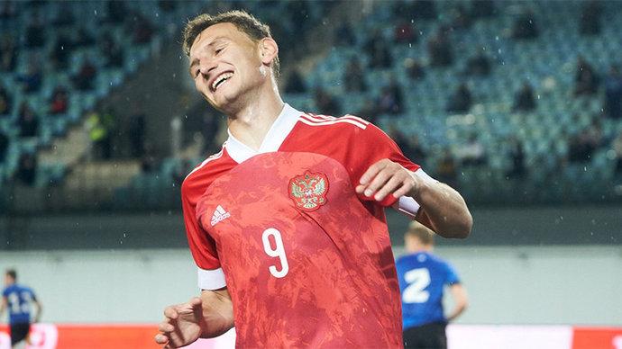Чалов и Захарян — в стартовом составе молодежной сборной России на игру с Исландией на ЧЕ