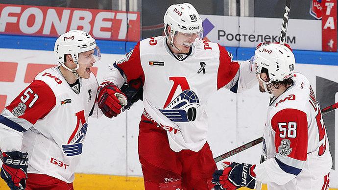 ЦСКА уступил «Локомотиву» в первом матче второго раунда плей-офф Кубка Гагарина