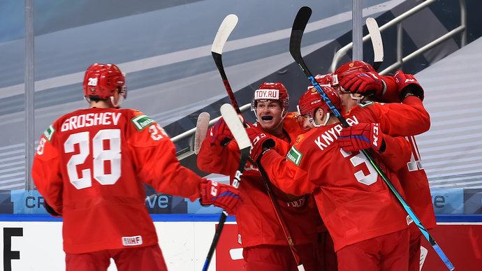 Сборная России разгромила Австрию и вышла в четвертьфинал МЧМ