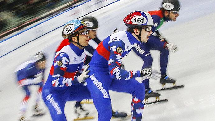 Сборная России по шорт-треку заняла пятое место в медальном зачете на ЧМ