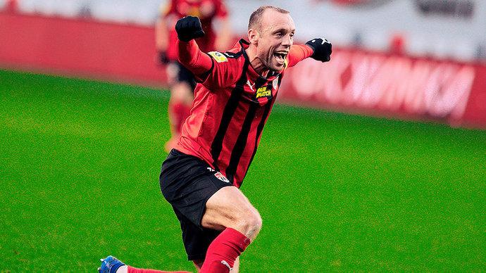 Глушаков — лучший игрок матча «Химки» — «Тамбов»