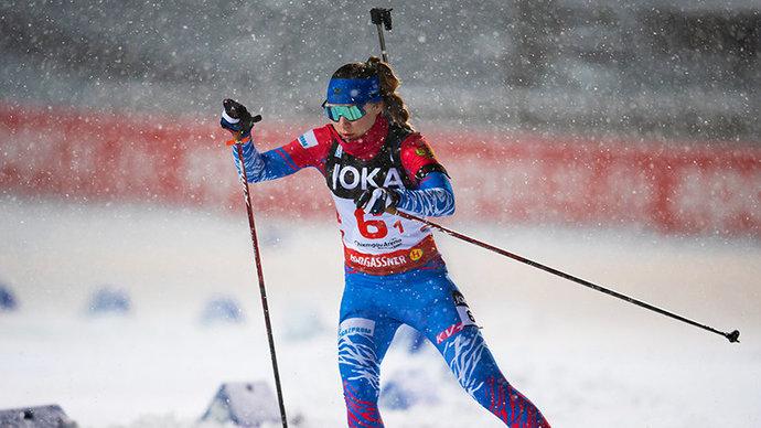 Павлова показала 12-й ход в индивидуальной гонке, уступив лидеру больше минуты
