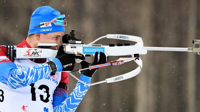 Сборная России выиграла серебро в сингл-миксте на Кубке IBU в Австрии