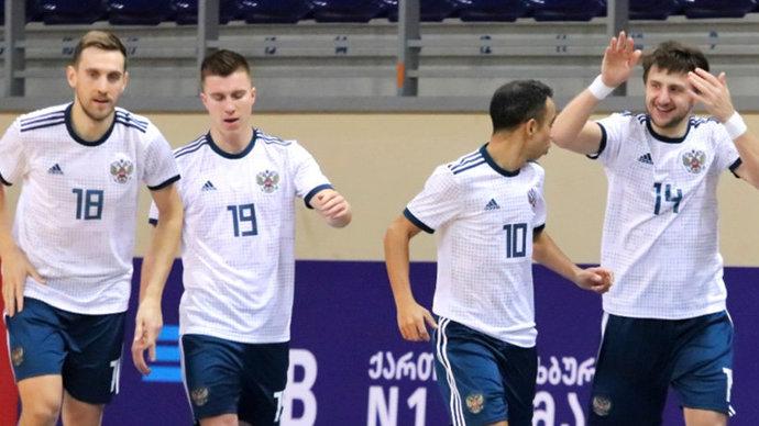 Сборная России по мини-футболу во второй раз обыграла Францию в квалификации ЧЕ-2022