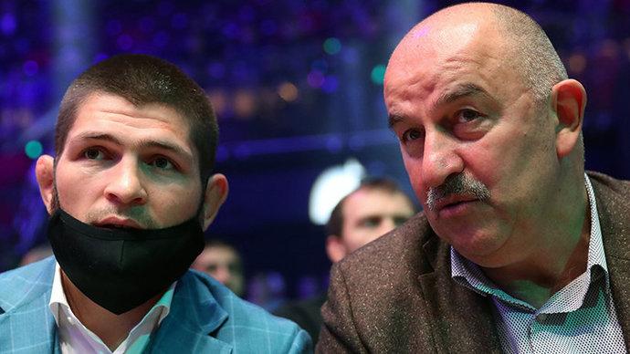 Черчесов подумает над возможностью тренировок Нурмагомедова со сборной России
