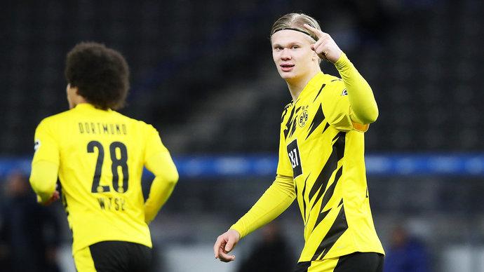 Холанд установил исторический рекорд в Бундеслиге