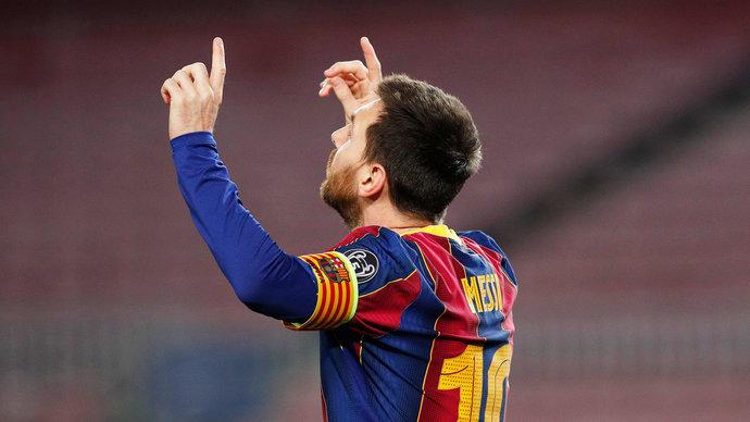 Месси установил рекорд «Барселоны» по количеству матчей в Примере