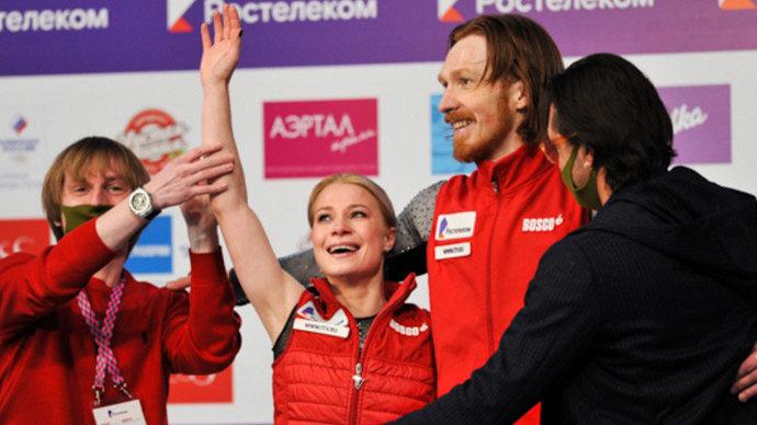 Тарасова и Морозов стали трехкратными чемпионами России