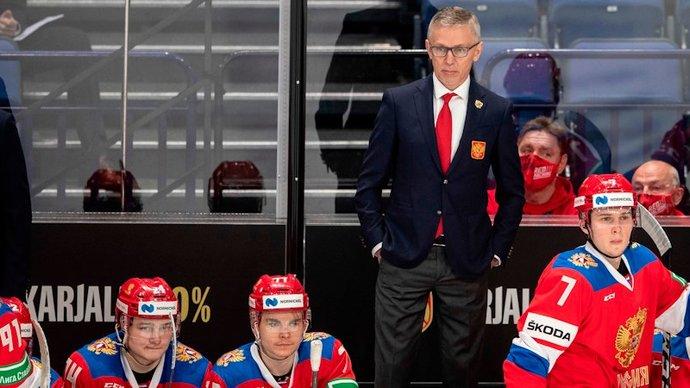 Игорь Ларионов — о МЧМ без зрителей: «Это очень необычный турнир. Хотя все находятся в одинаковых условиях»