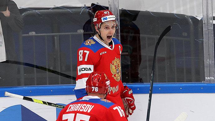 Сборная России выиграла домашний этап Евротура, обыграв финнов