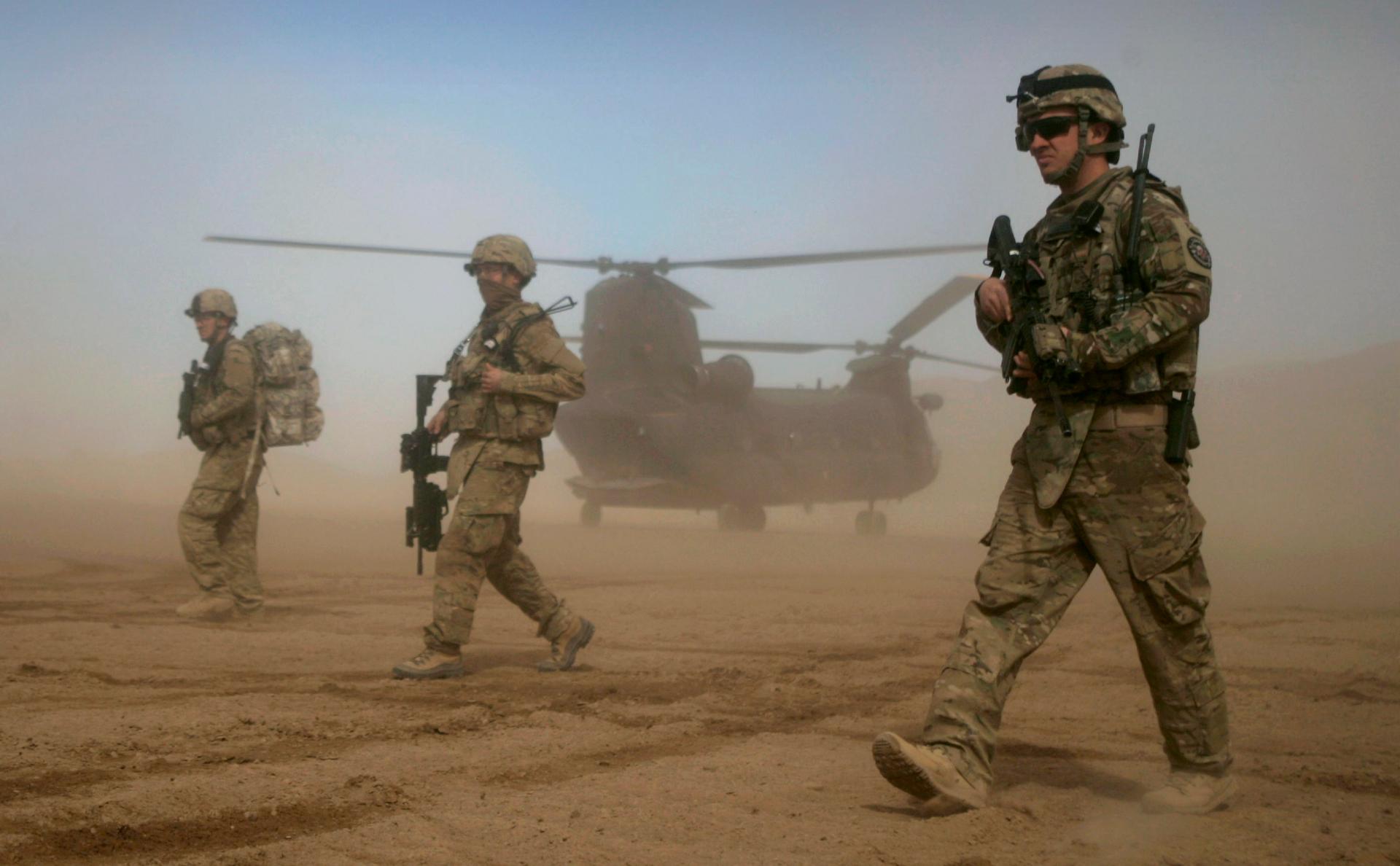 СМИ узнали о боевой готовности войск США на Ближнем Востоке