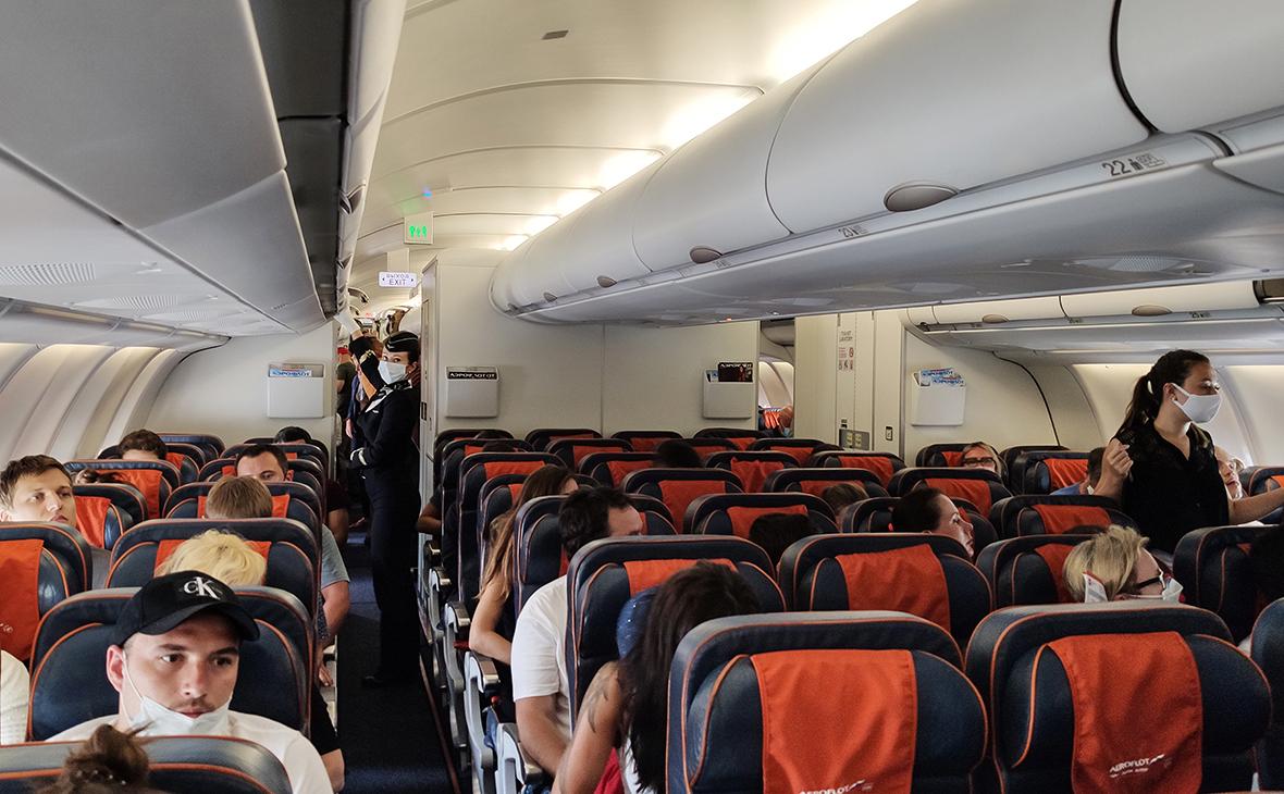 «Аэрофлот» ввел «карантинные» места для снявших маски пассажиров