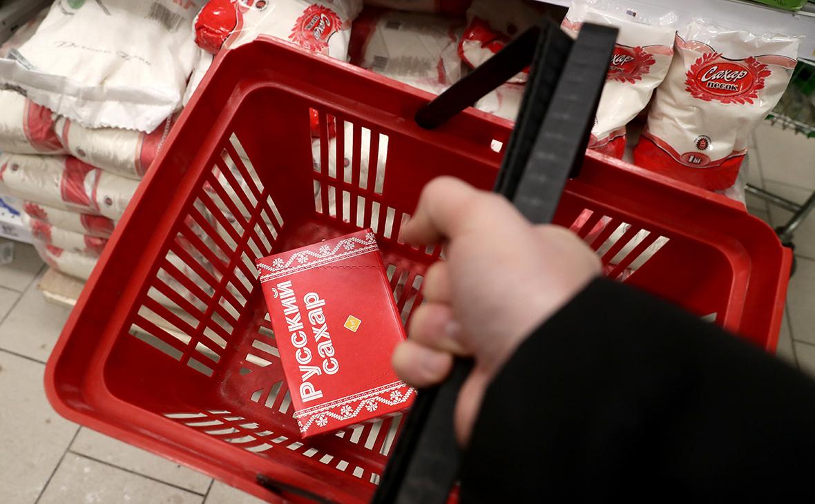 Цены на сахар и масло у Росстата оказались выше зафиксированных сетями