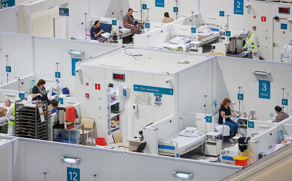 В России выявили минимум заболевших COVID-19 за сутки с начала ноября