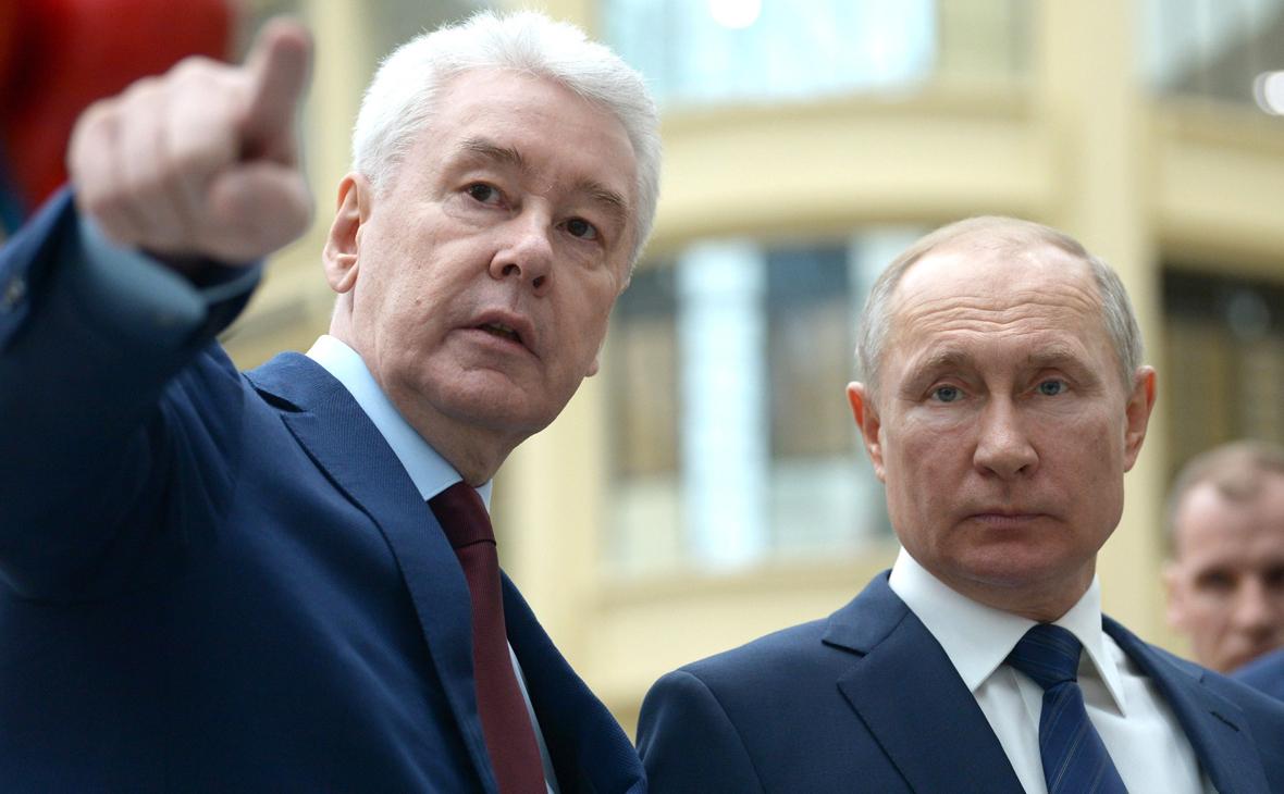 Путин попросил Собянина «не прибедняться»