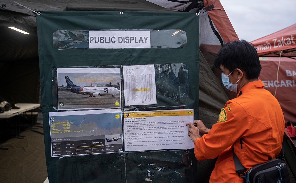 WSJ назвал возможную причину крушения индонезийского Boeing