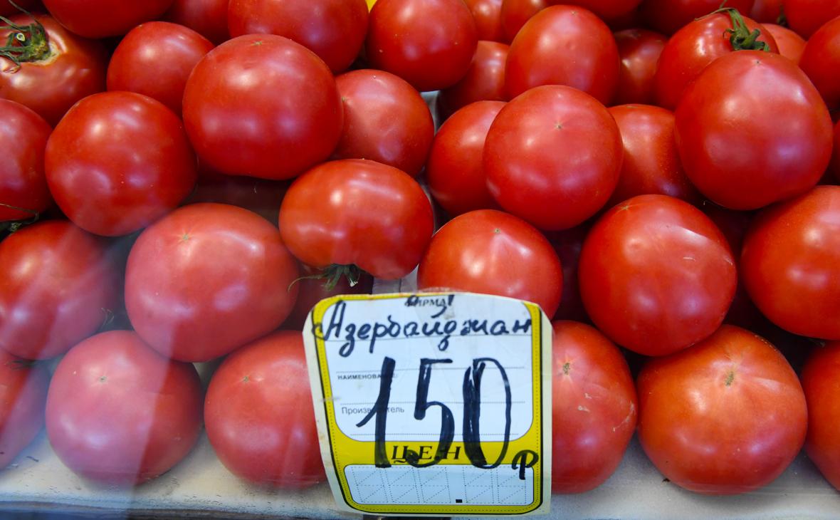 Россия частично сняла ограничения на ввоз азербайджанских томатов