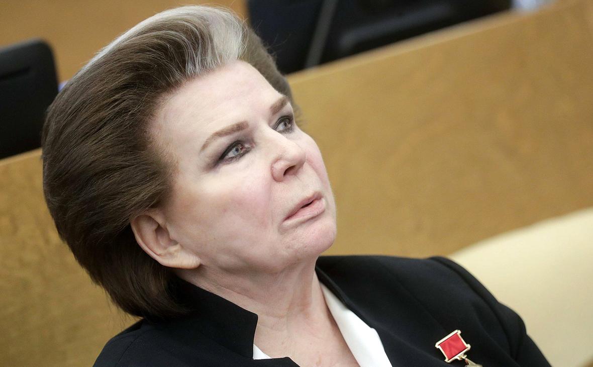 Валентина Терешкова сделала прививку от COVID-19