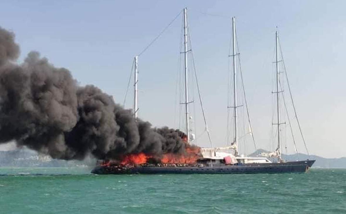 Принадлежавшая бывшему владельцу Adidas яхта затонула в Малайзии