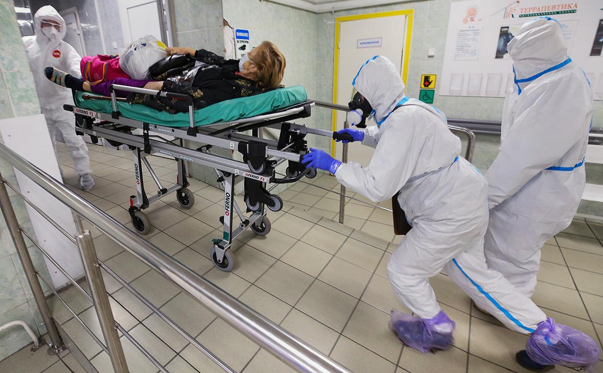В России выявили рекордное число заразившихся COVID-19 за сутки