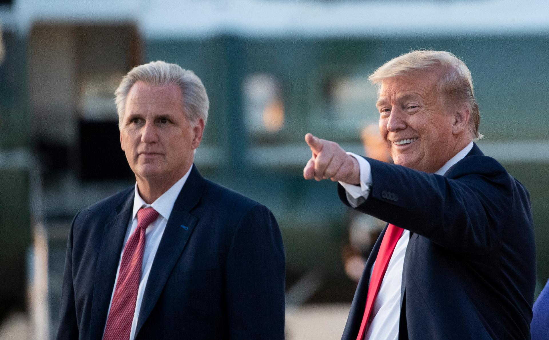 Трамп пообещал республиканцам вернуть большинство в палате представителей