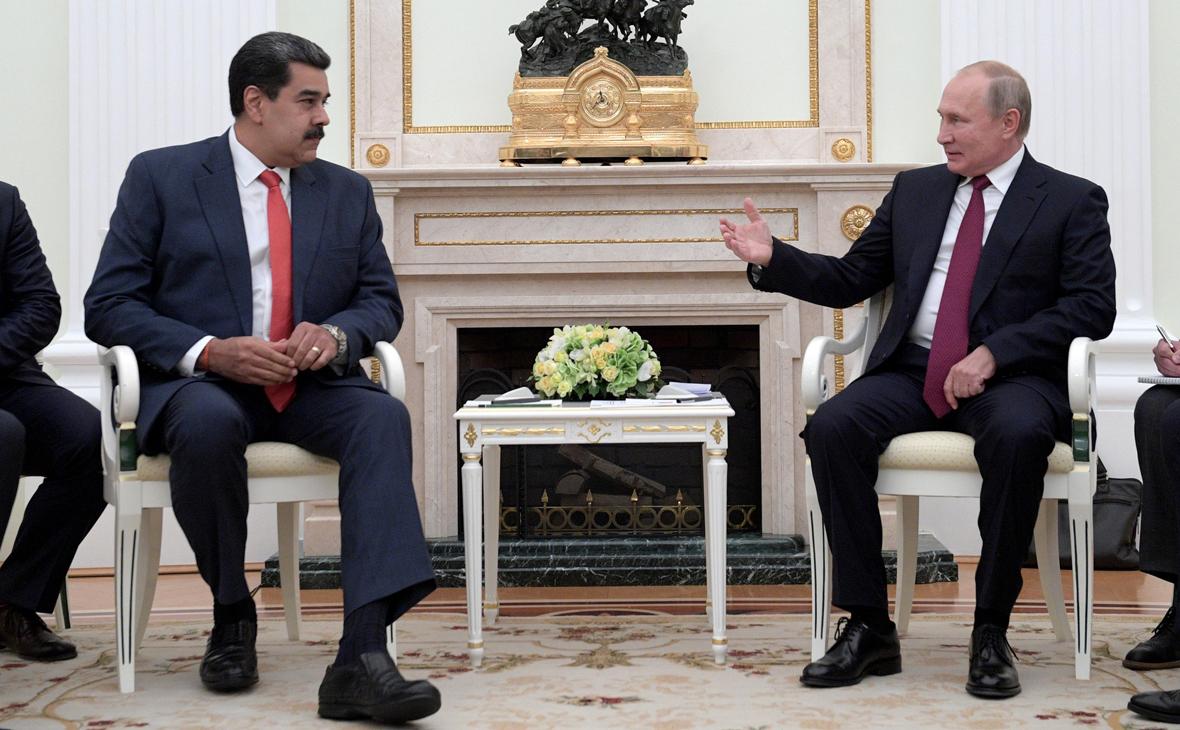 Кремль заявил о планах согласовать встречу Путина и Мадуро в 2021 году