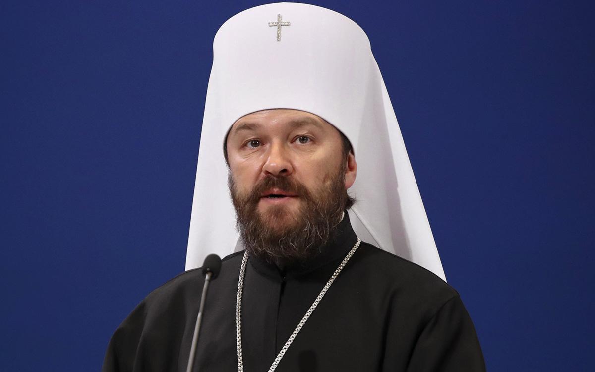 Патриарх Кирилл наградил митрополита Илариона