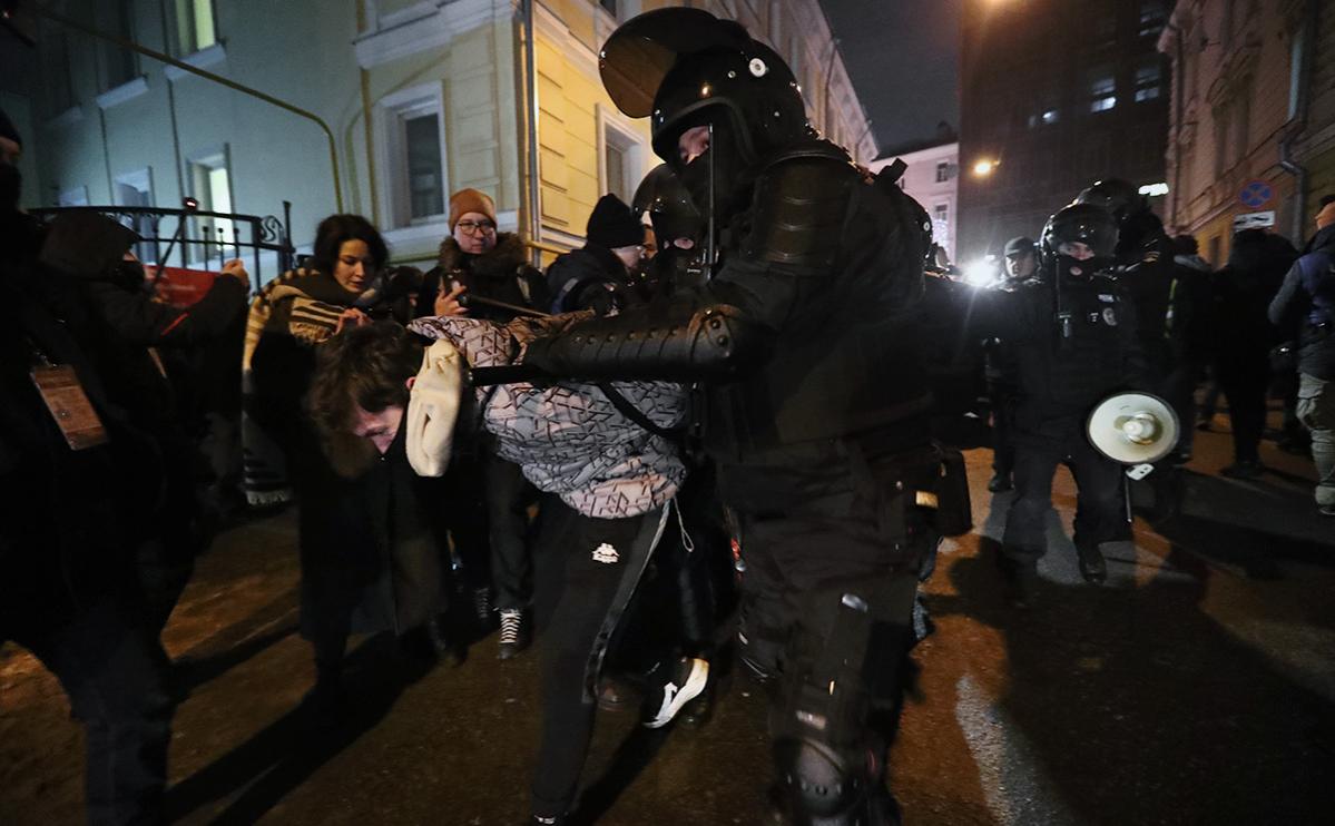 Начальник спецприемника в Сахарово назвал число содержащихся арестованных