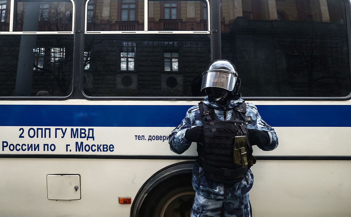 Московская полиция пообещала «пресечь» акцию 23 января