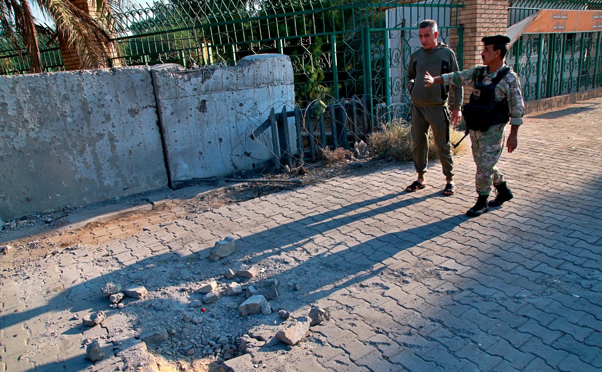 В Багдаде район посольства США обстреляли ракетами