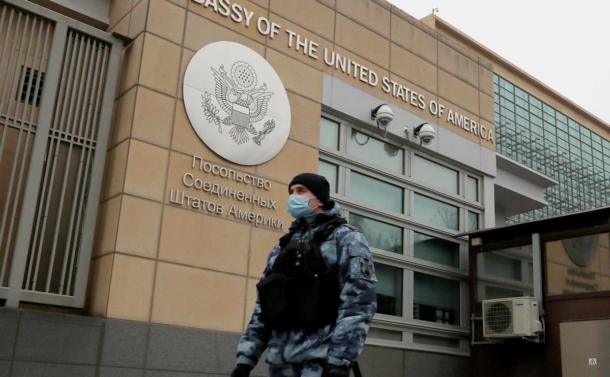 МИД вручил ноту протеста представителю посольства США в Москве