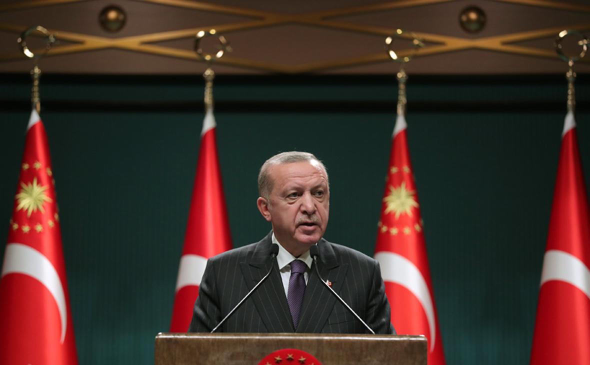 Эрдоган назвал цель санкций США из-за С-400