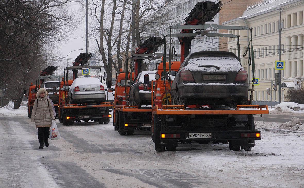 В Москве поднимут тарифы на эвакуацию автомобилей