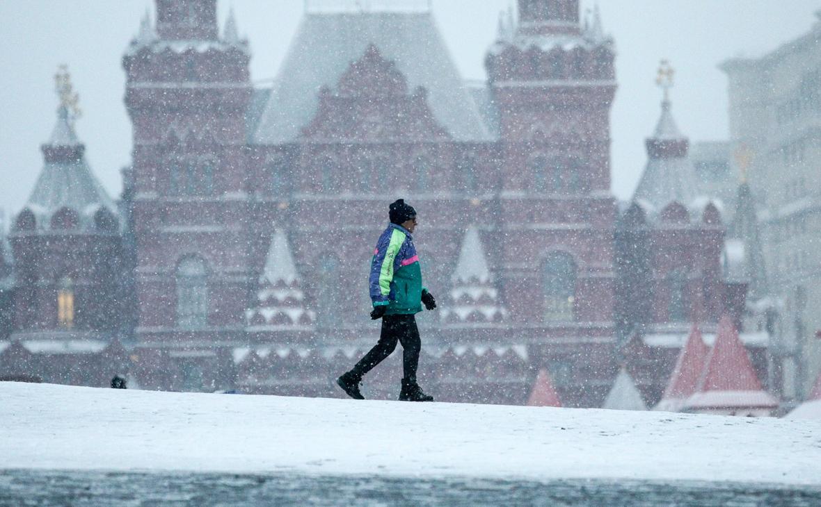 Синоптик предупредил о надвигающейся на Москву со снегопадами «Грете»