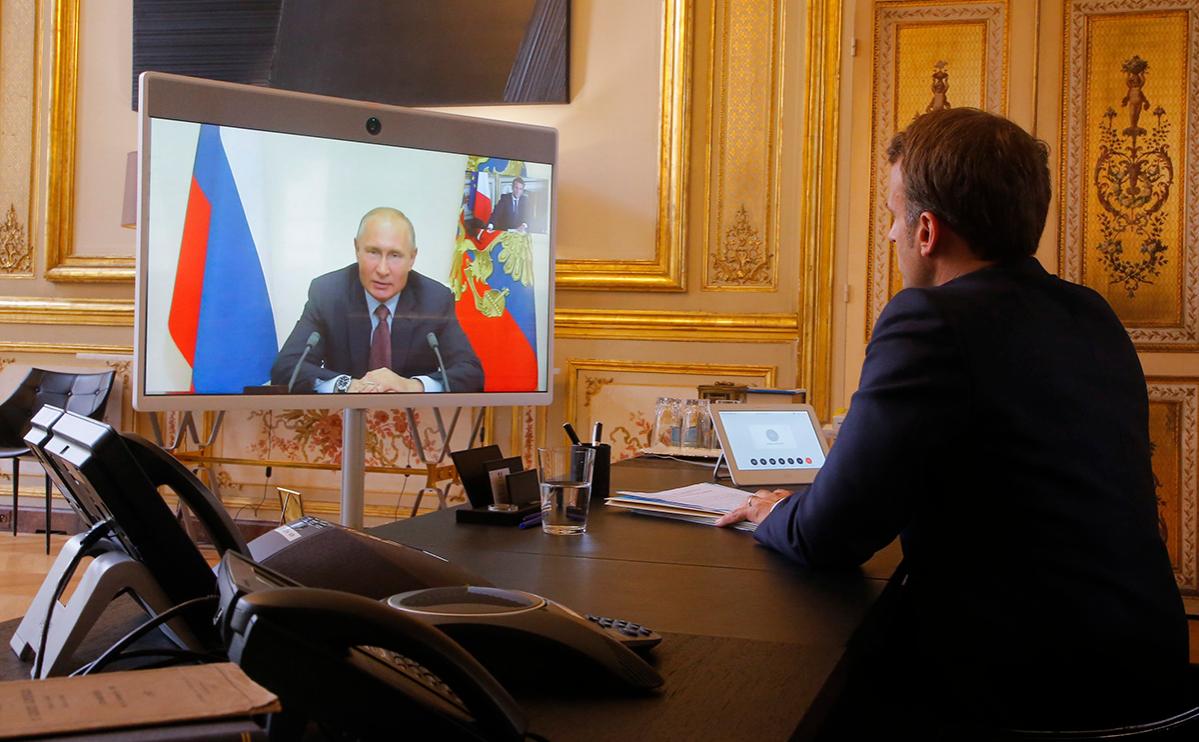 Путин сообщил о предложении Макрону помощи в изучении анализов Навального